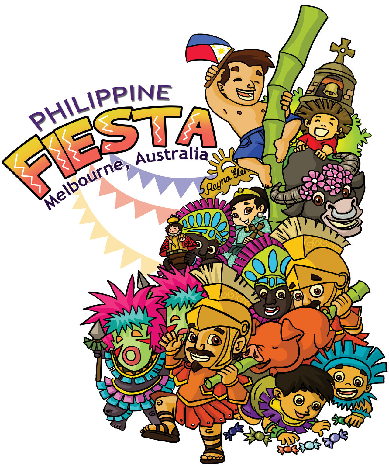 Celebration clipart festival. Fiesta drawing at getdrawings