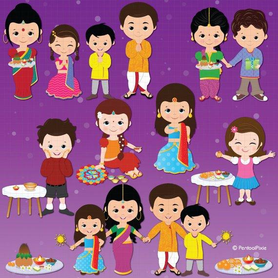 Celebration clipart festival. Deepavali diwali ethnic from