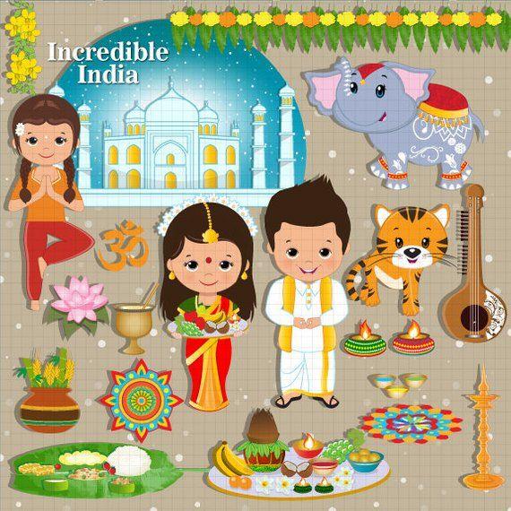 Incredible india ethnic celebration. Festival clipart festival indian
