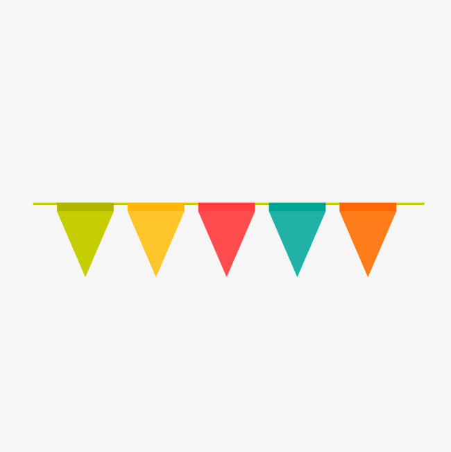 Celebrate clipart flag. Birthday party celebration vector