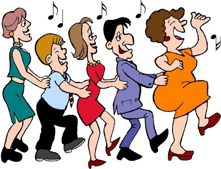 best line dance. Celebration clipart group