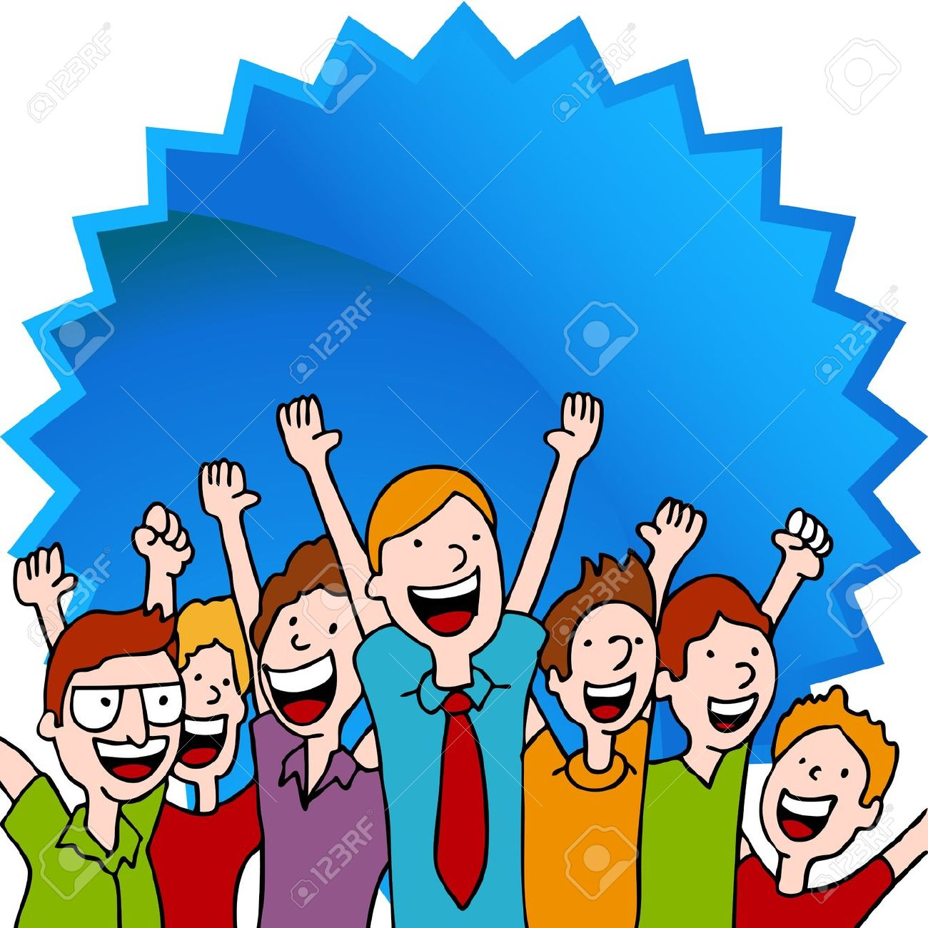 Pictures of kids working. Celebration clipart group