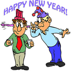 Free gifs animations friends. Moving clipart new year