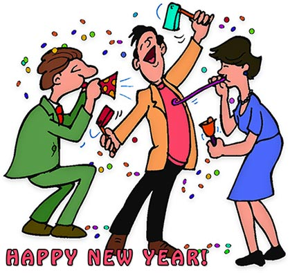 Celebrate clipart new year. Celebration clip art photo