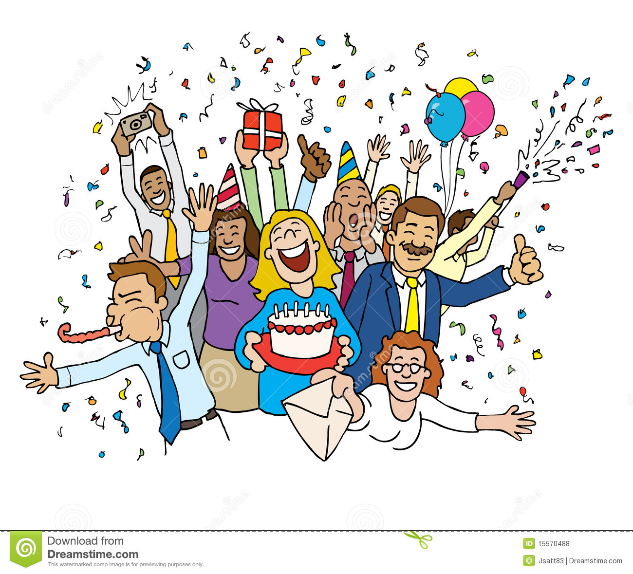 Celebration clipart office.  collection of party