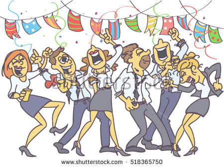 Celebration clipart office. Celebrate clipartuse