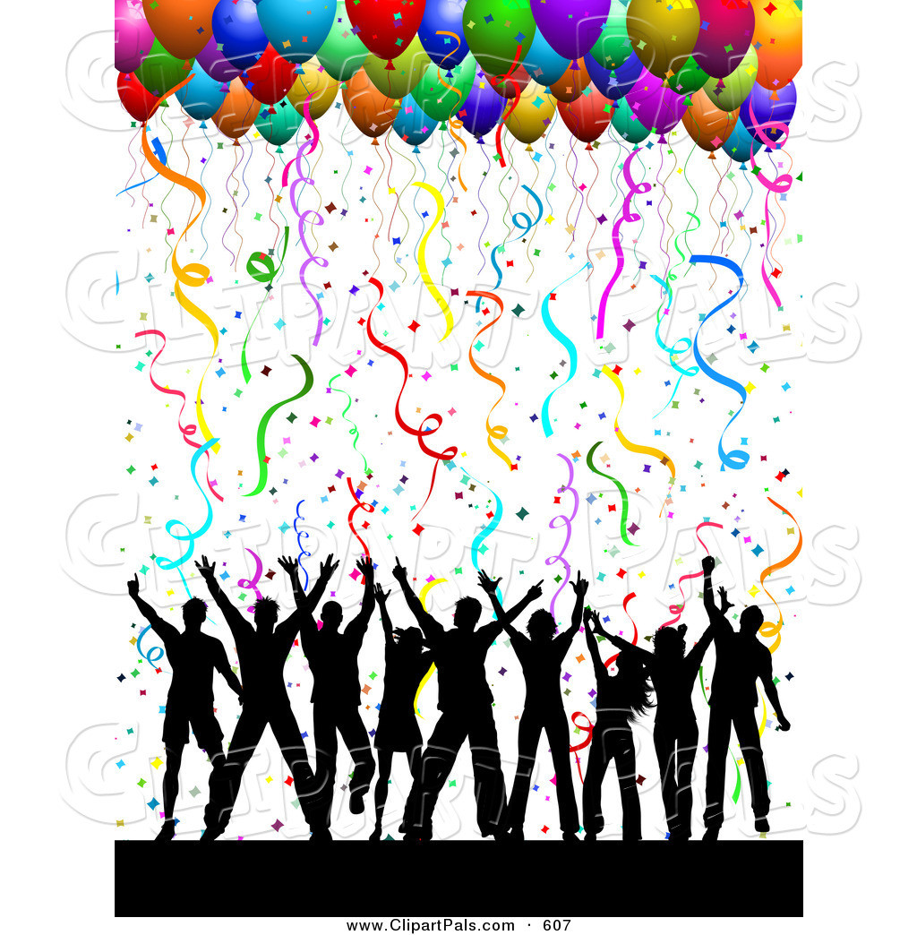 Free clip art acting. Celebration clipart party