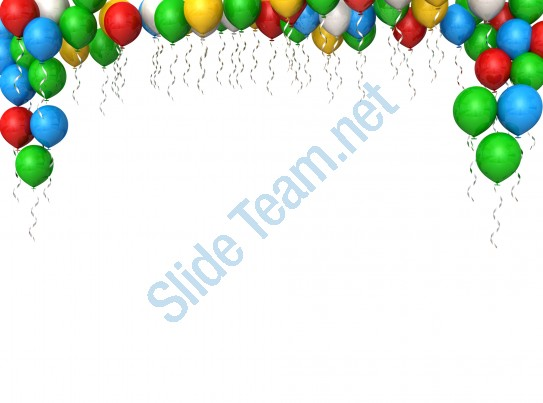 Celebration clipart powerpoint presentation.  colorful balloons for