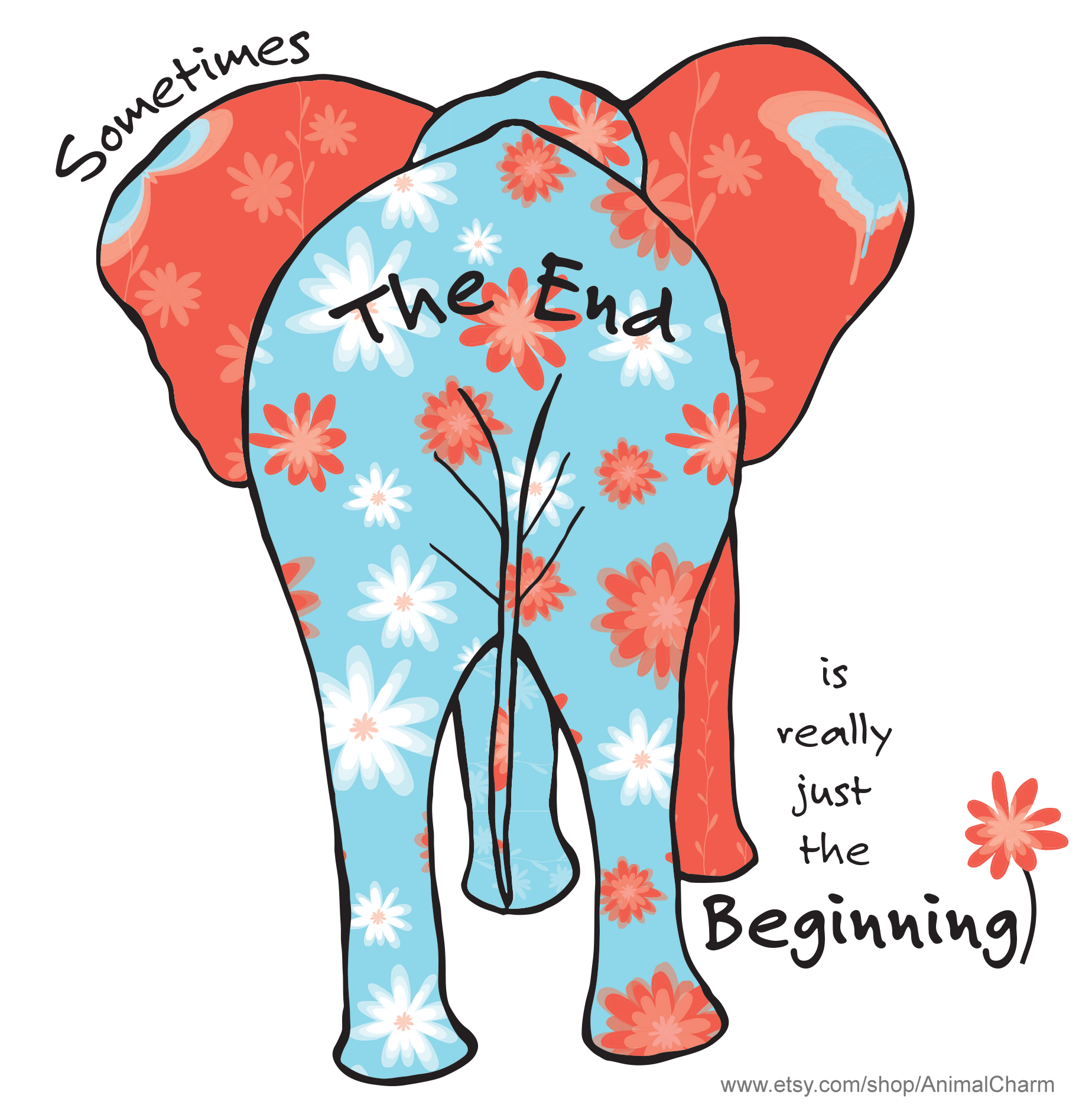 Clipart elephant graduation. Retirement card funny cute