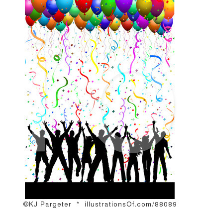 People dancing at a. Celebrate clipart team