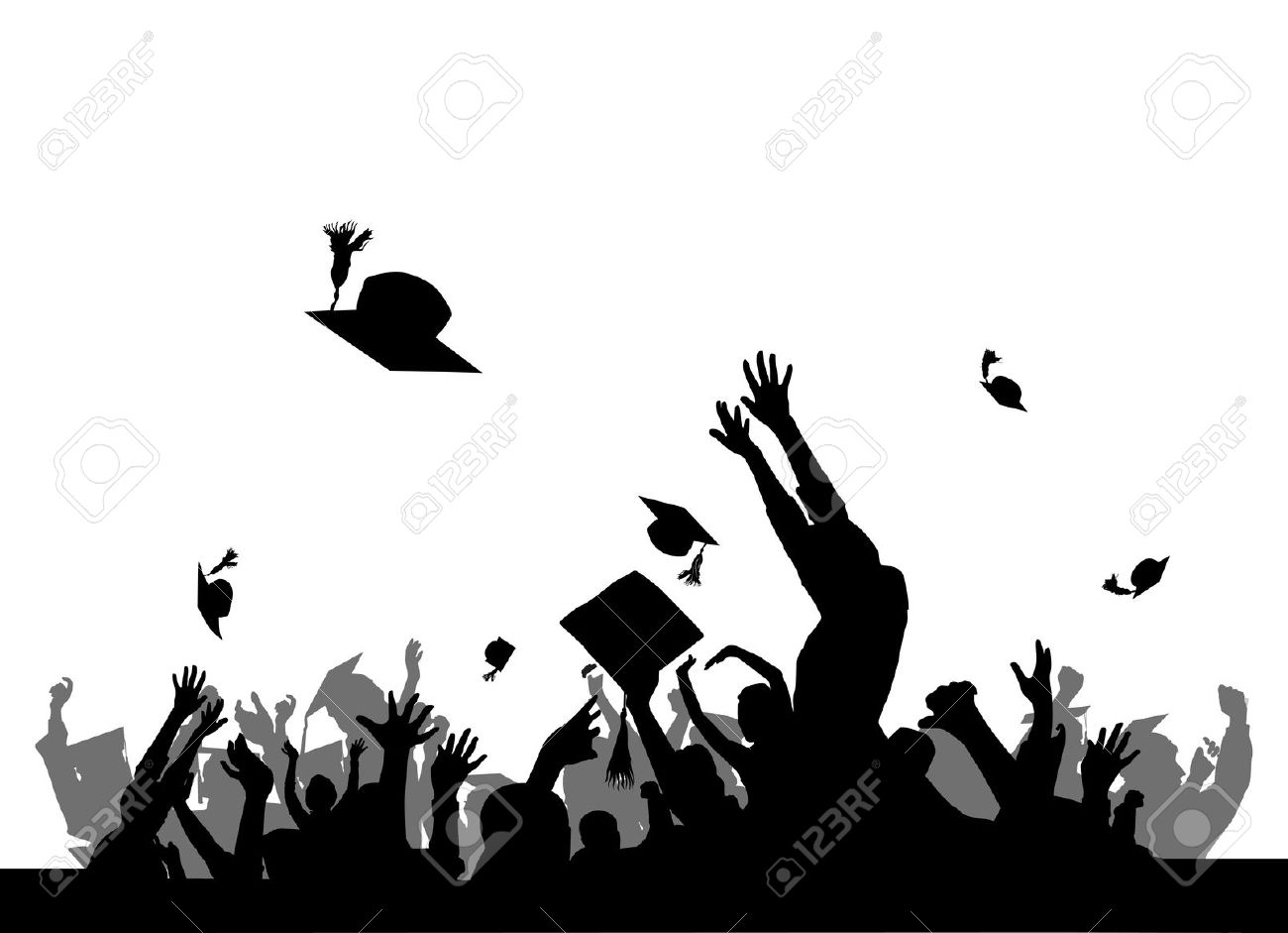 Great graduation by party. Celebration clipart student