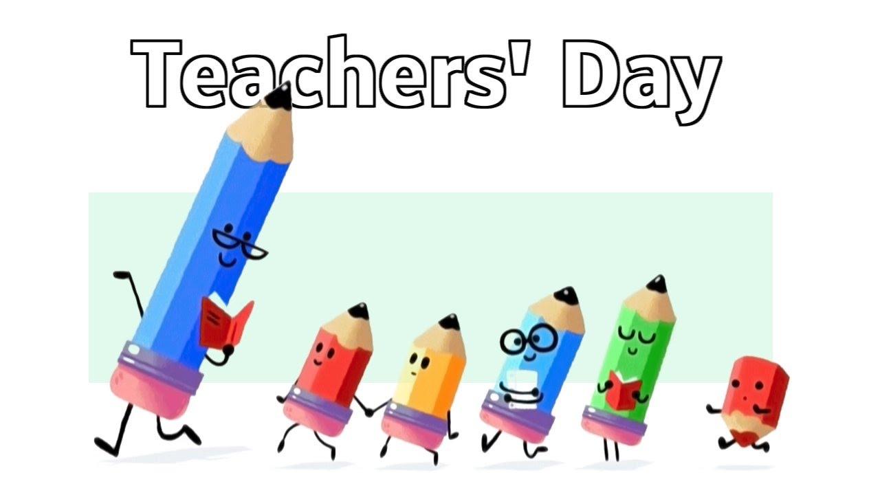 Celebration clipart teacher. Teachers day pencils