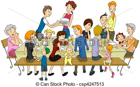 Cousins clipart family get together. Celebration reunion pencil and