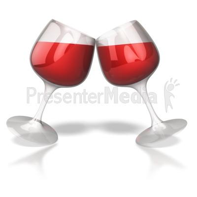 Glass toast presentation great. Celebration clipart wine