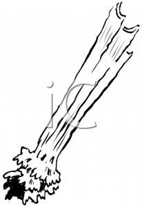 Clip art image black. Celery clipart celery stalk