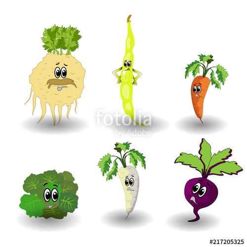 Free cartoon on clipartsbase. Celery clipart face