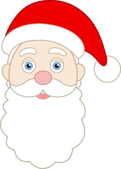 Printable santa pattern of. Celery clipart face