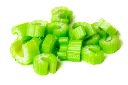 Fruits vegetables frozen prepared. Celery clipart slice