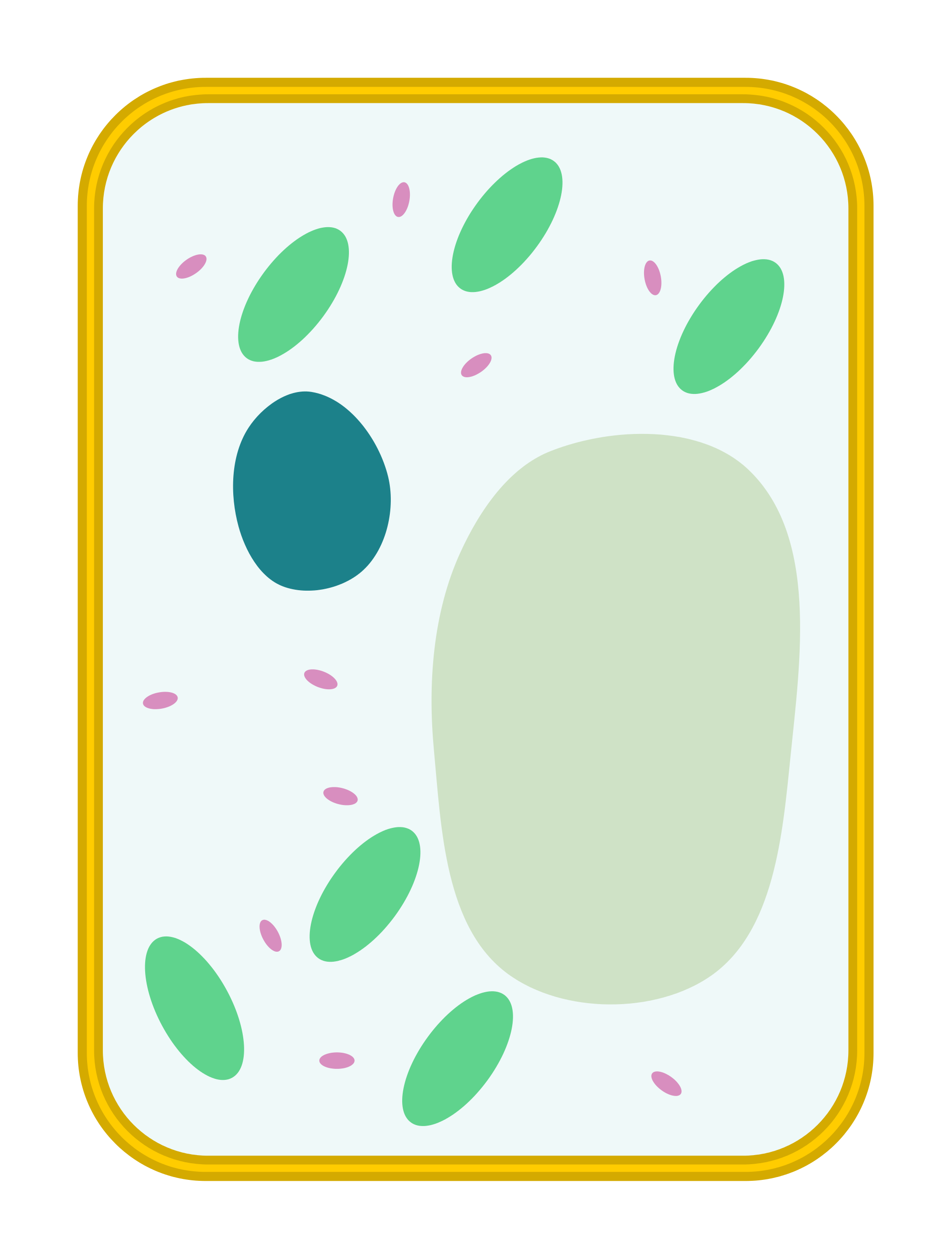 Cell clipart basic.  collection of plant