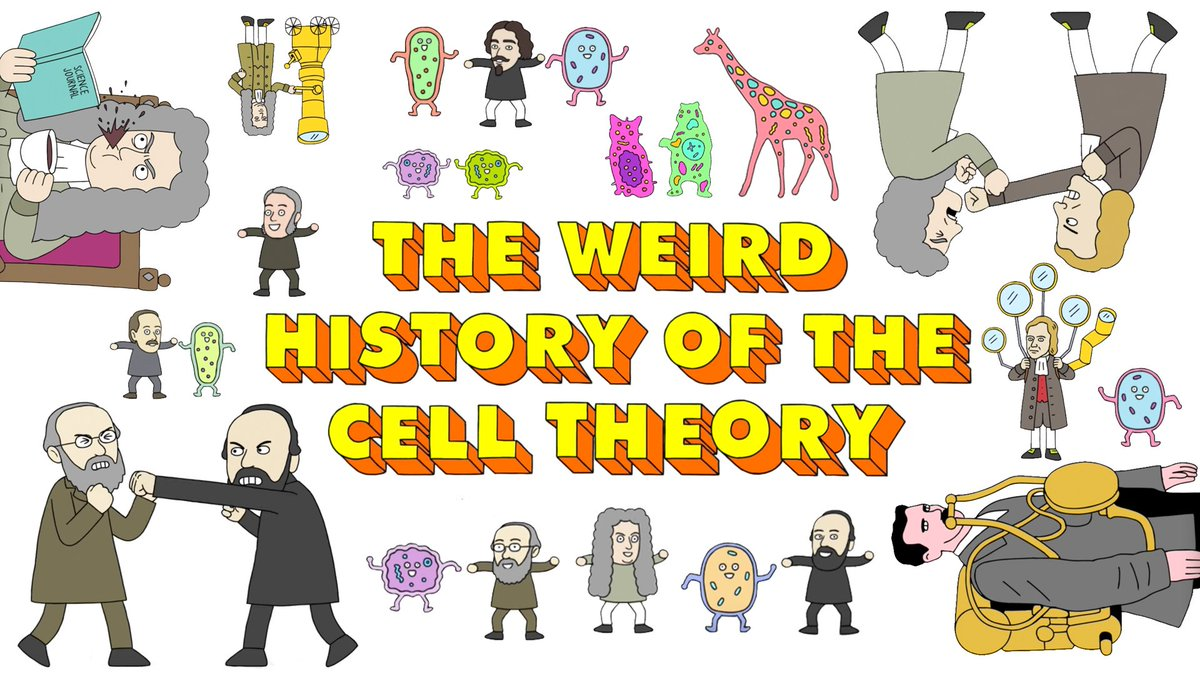 Ted ed on twitter. Cell clipart cell theory