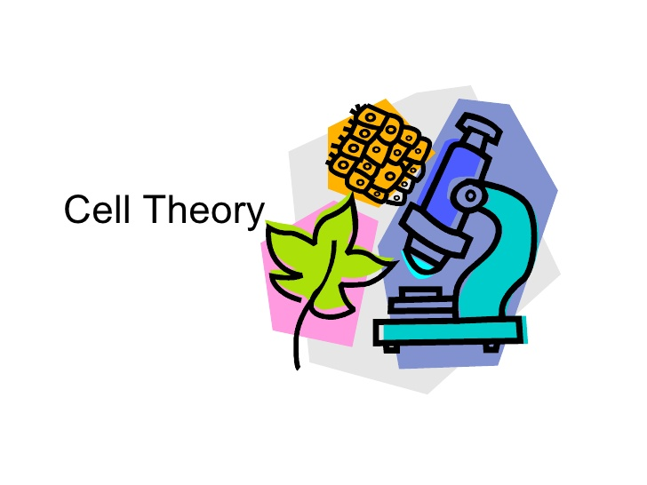 Cell clipart cell theory.