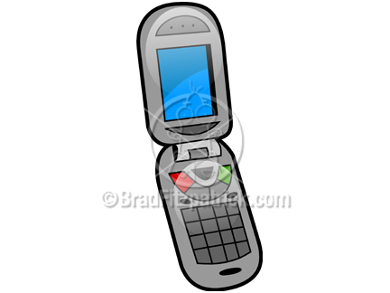 Cartoon phone picture royalty. Cell clipart gadget