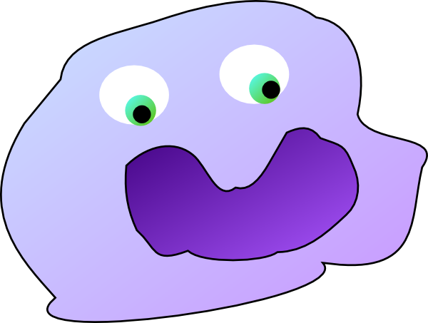 Cartoon clip art at. Cell clipart macrophage