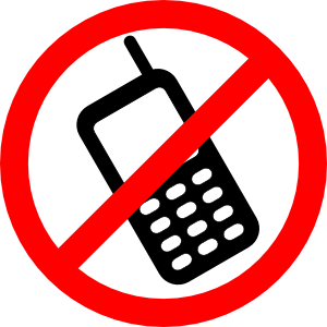 No Cell Phones Allowed Clip Art at Clker