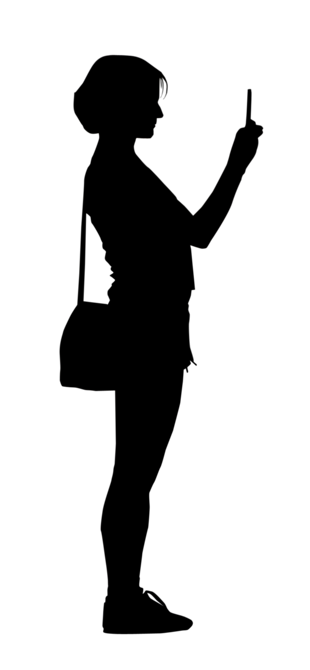 Mobile at getdrawings com. Cell clipart silhouette