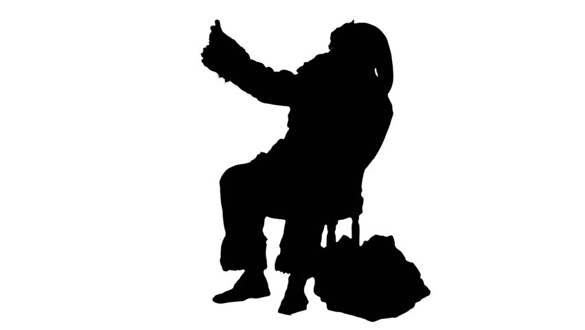 Cell clipart silhouette. Phone at getdrawings com