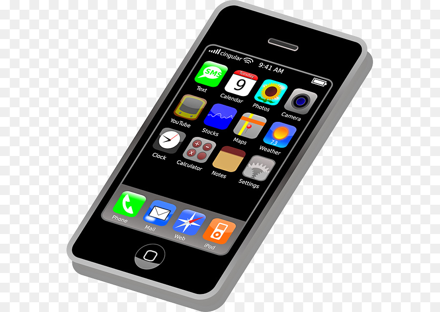 Iphone telephone clip art. Cell clipart smartphone