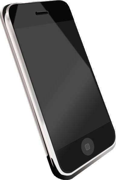 Modern phone clip art. Cell clipart smartphone