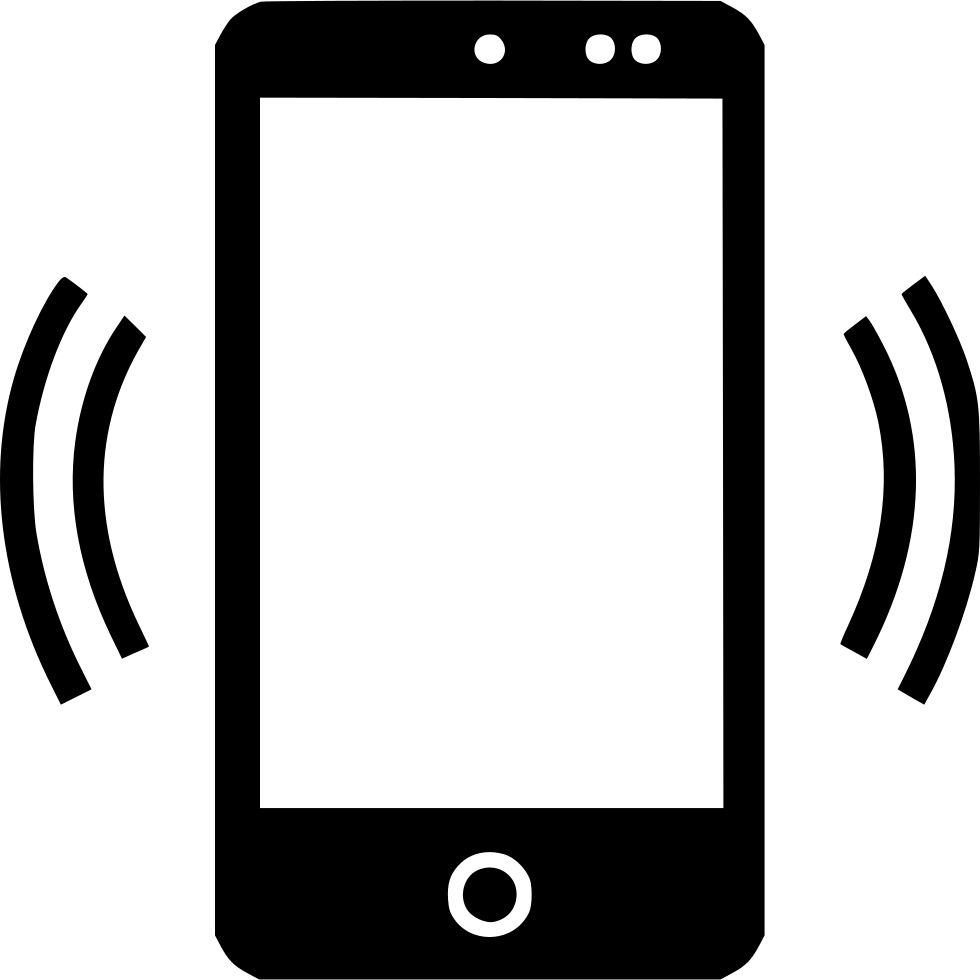 Signal svg free download. Cell phone icon png