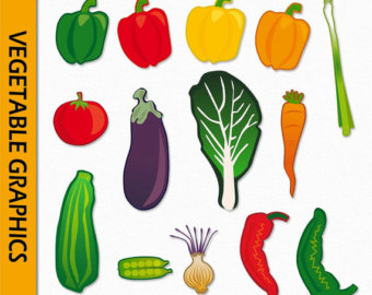 Fruit and clip art. Cell clipart vegetable