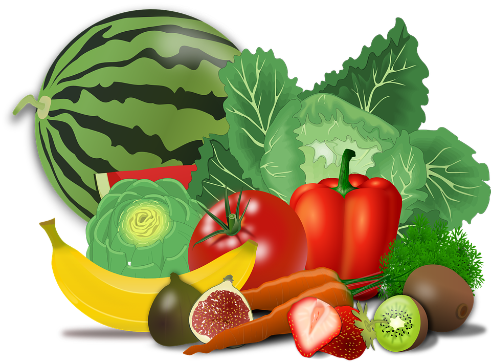 Cell clipart vegetable. Antioxidant vitamins such as