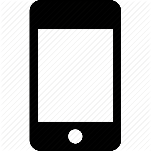 Cell phone icon png. Mobile icons vector free