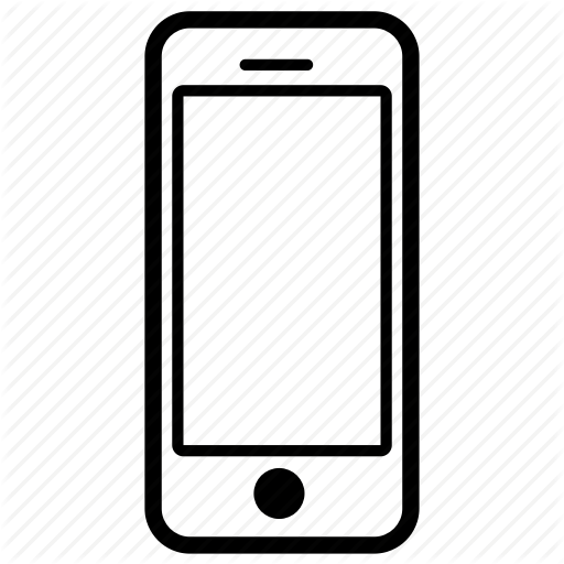Gadget linicons by brexebrex. Cell phone icon png