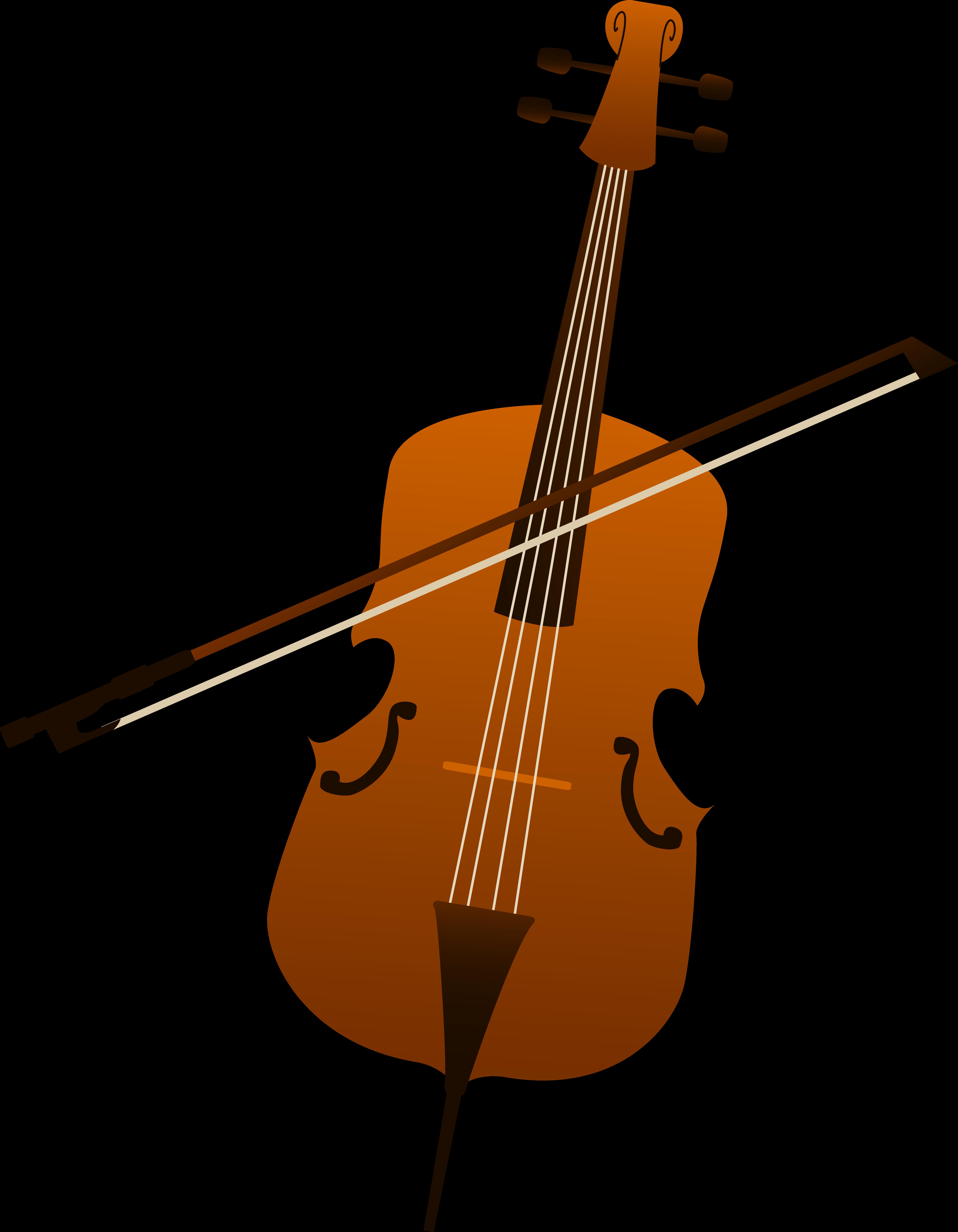 Cliparts zone . Cello clipart