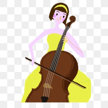 Png vector psd and. Cello clipart animated
