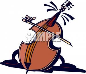 Cello clipart broken. A playing itself royalty