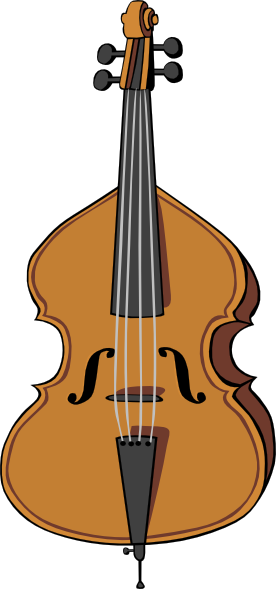 Clip art at clker. Cello clipart cellist