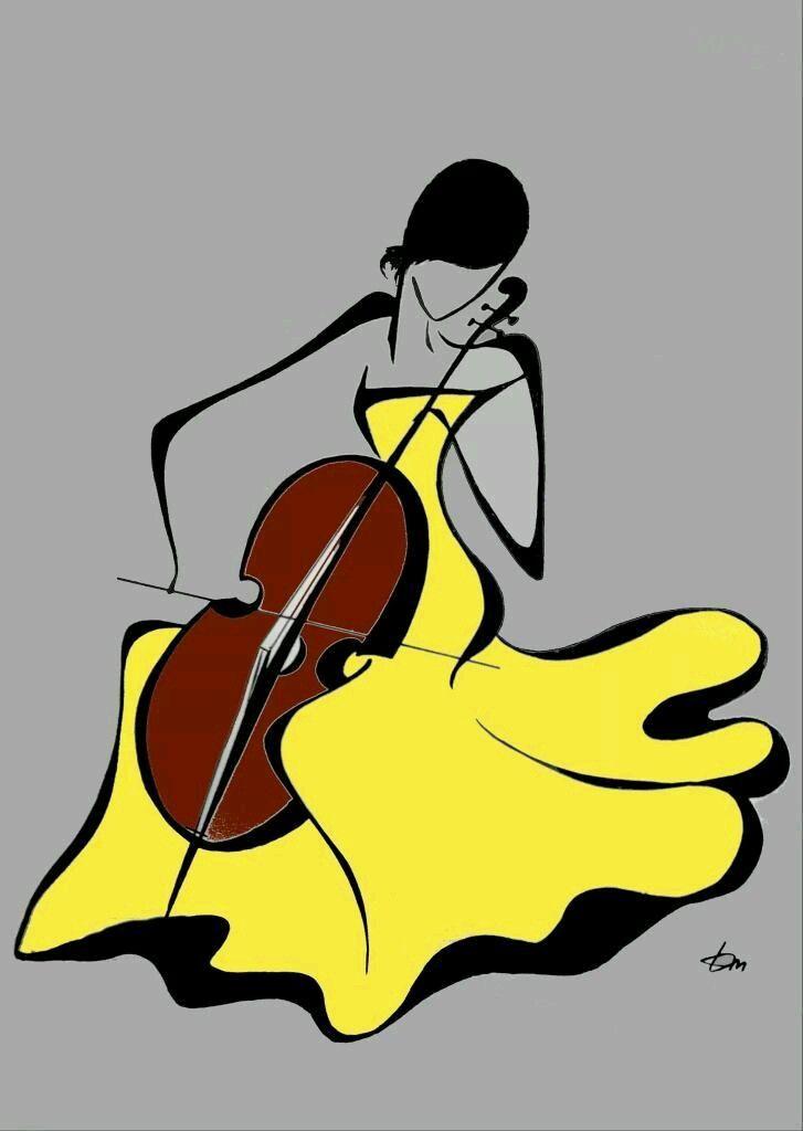 Cello clipart cellist.  best print images