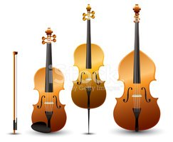 Cello clipart classical instrument. Instruments violin and contrabass