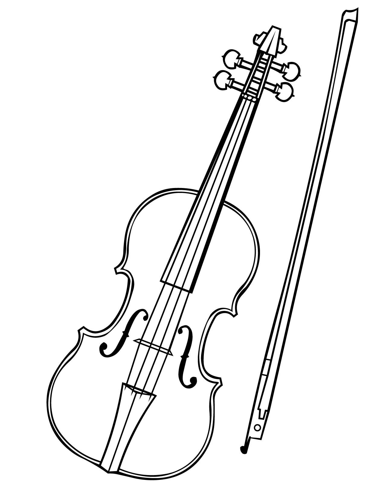 Pages awesome gallery cargotrailerus. Cello clipart coloring page