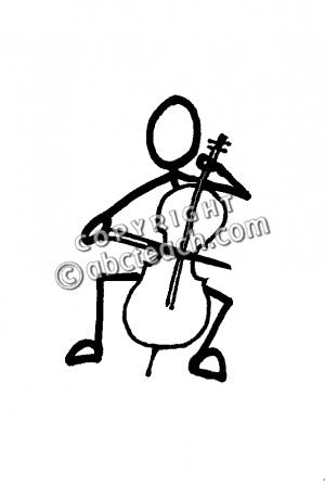 Cello clipart drawn. Clip art panda free