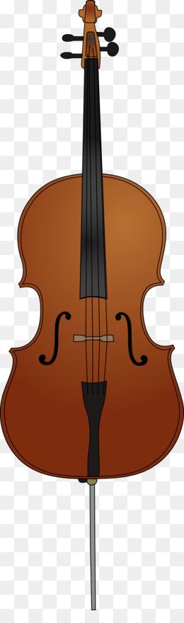 Violin double bass clip. Cello clipart fiddle