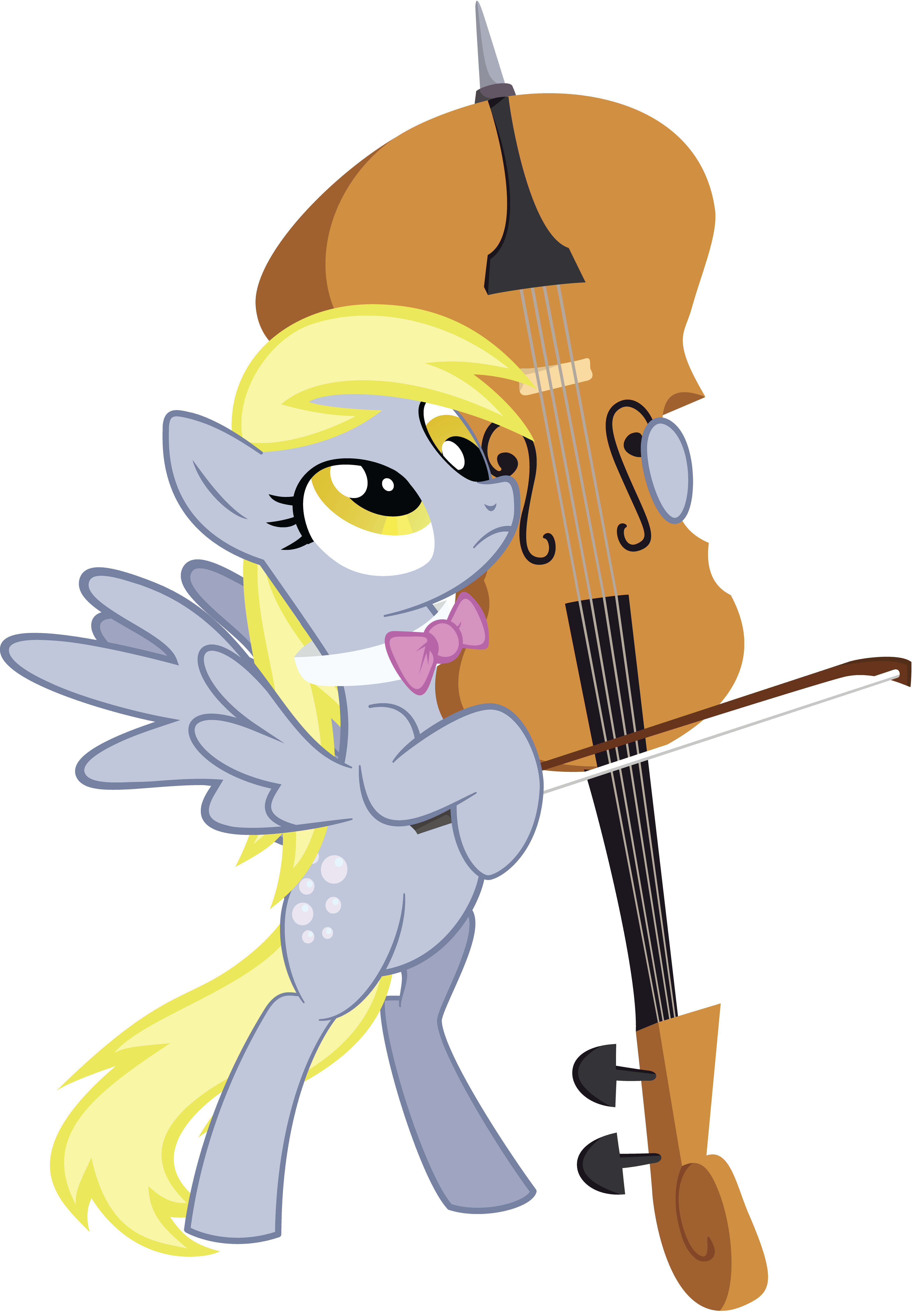 Derpy s overture my. Cello clipart mlp