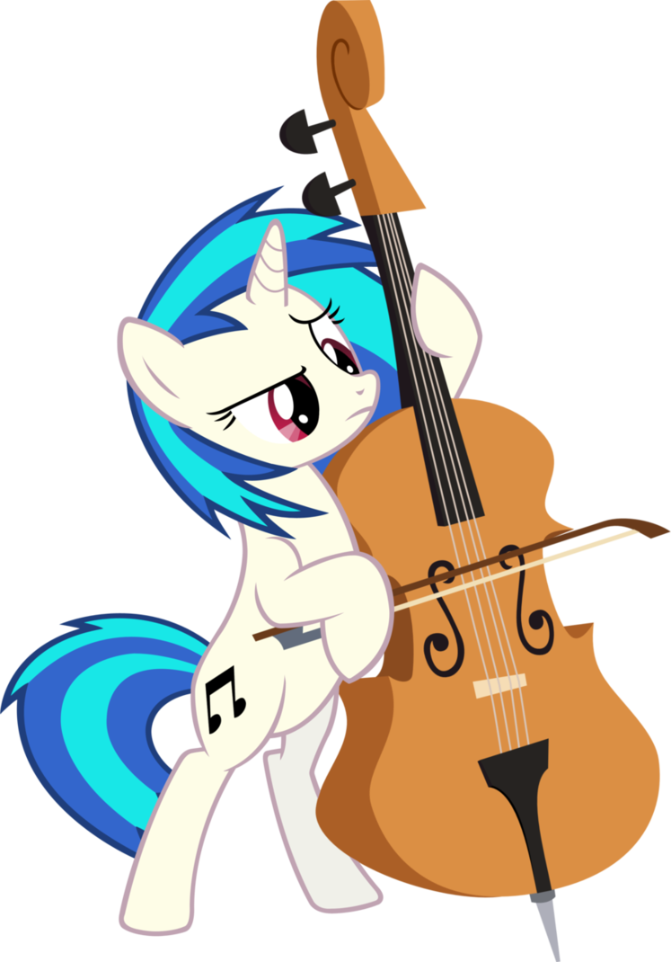 Cello clipart mlp. You scratched my fimfiction
