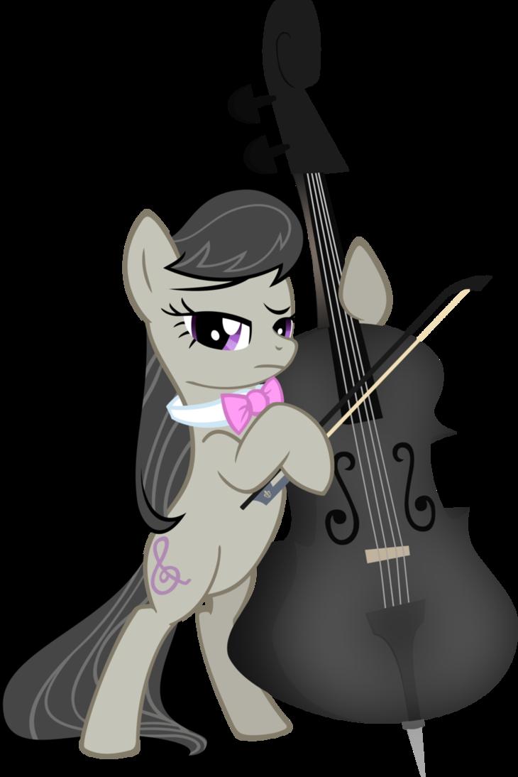 S black by axlewolf. Cello clipart octavia