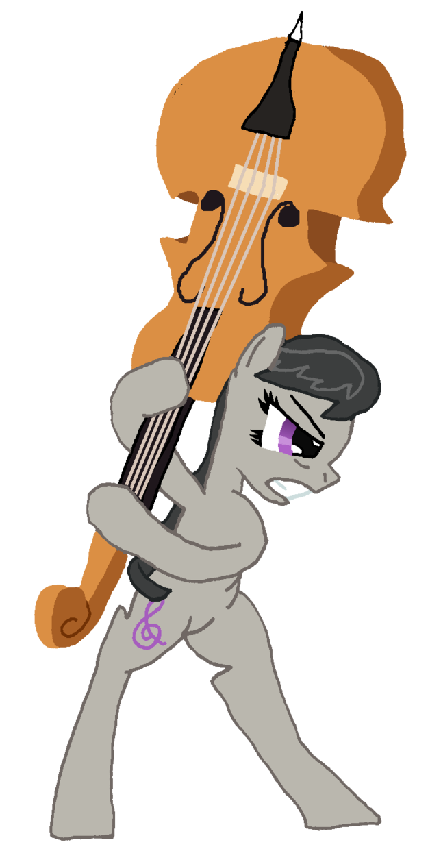 Cello clipart octavia. Attack by stormbadger on